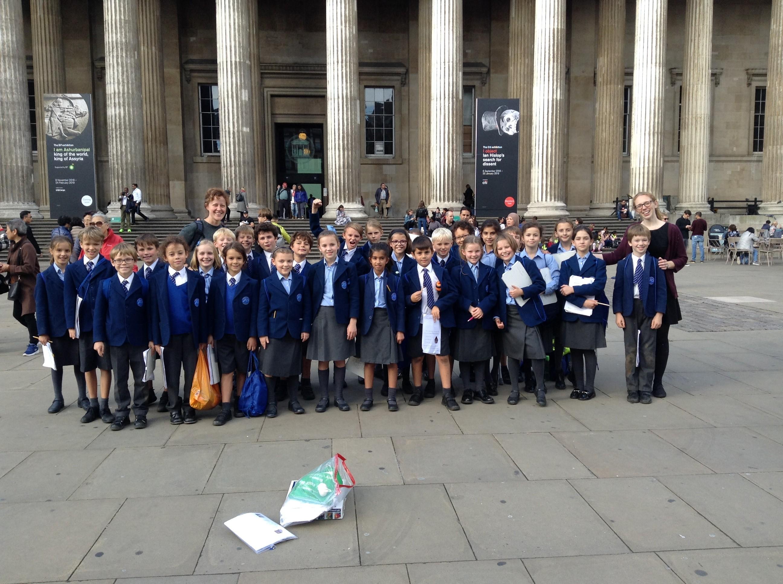 Year 5 Topaz – British Museum   Dolphin School